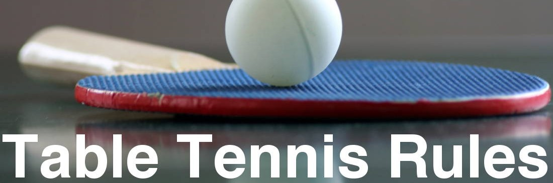 Table tennis rules of play table tennis rules for Table tennis serving rules